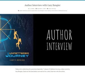 JL Gribble Author Interview 202008901